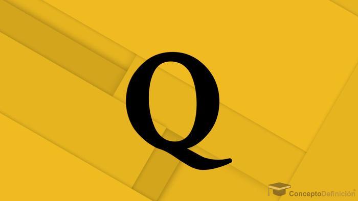 Letra Q 1