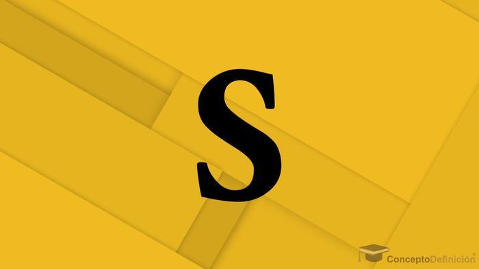 Letra S 3